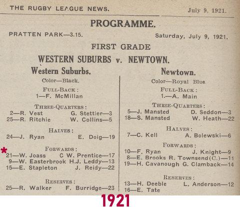 1921 program