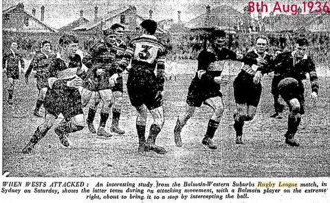 1936 wests v balmain photo relates to story