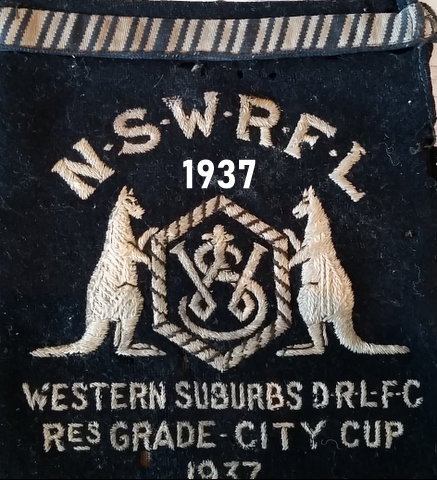 1937 city cup badge