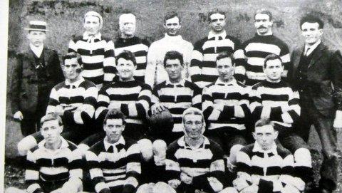 1908 first team