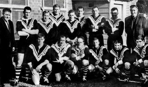 1965 team photo at PP