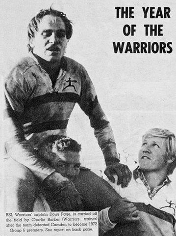 1972 doug on players shoulders GF