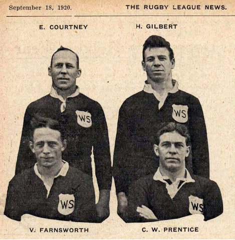 1920 photo of wests players no harry