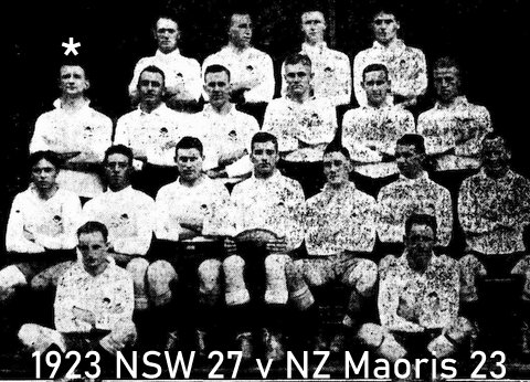 1923 team photo NSW V NZ Maoris