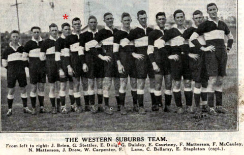 1925 wests team photo