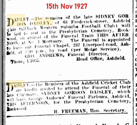 1927 nov family death notice.