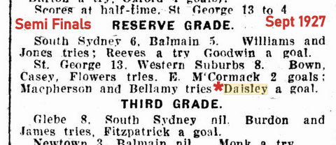 1927 sept rg semi results gordon kicks goal
