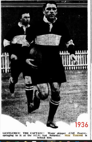 1936 Stan running at the SCG photo
