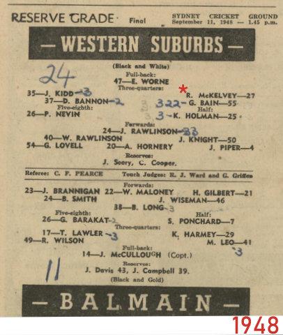 1948 final wests v ba,mian reserve grade