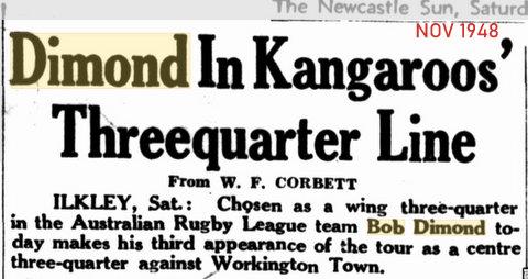 1948 nov kanga tour story of playing on the wing