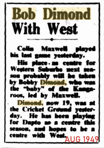 1949 aug first mention of bob and wests