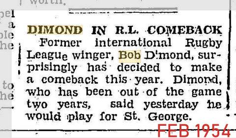 1954 feb comeback with saints