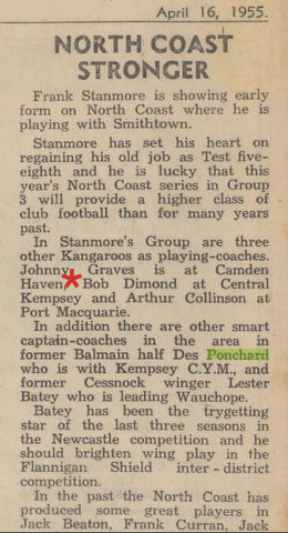 1955 bob playing for kempsay central