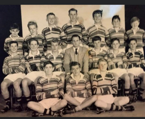 1958 school team photo