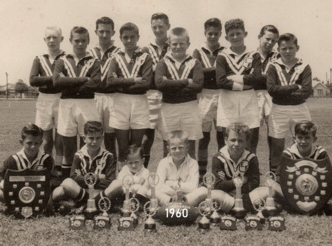 1960 team photo feds