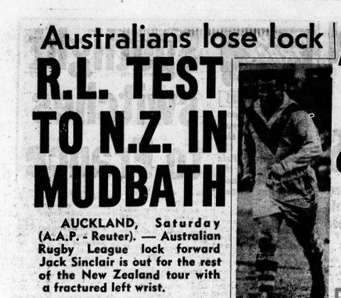1961 arthurs first test match