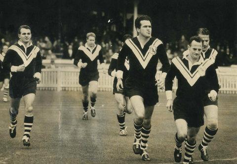 1962 GF photo running onto the field