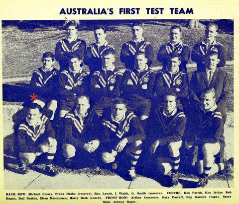1962 first test team photo