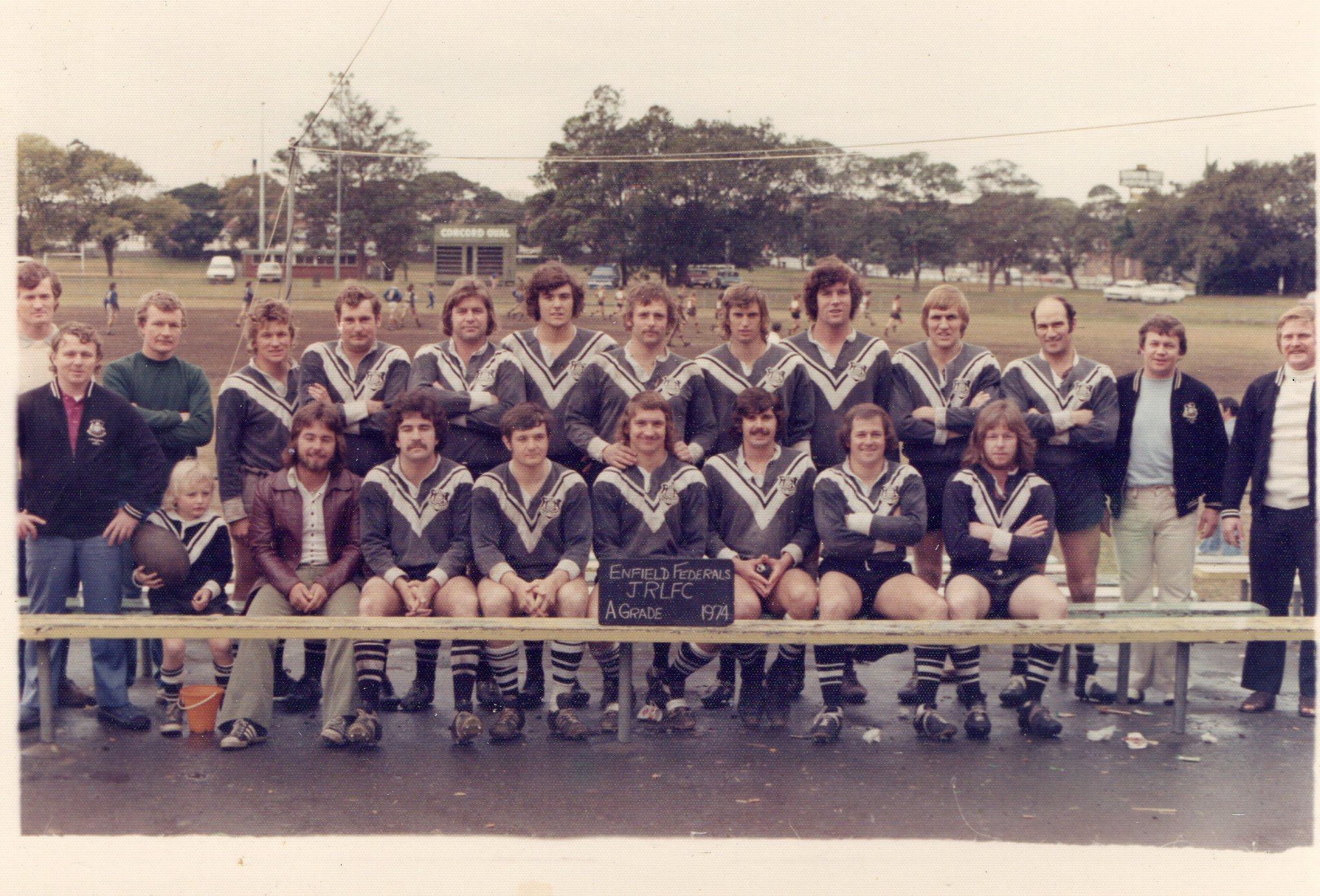1974 Enfield Federals A Grade Premiers