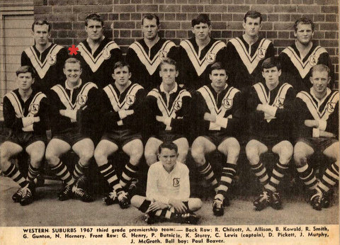 1967 gf team photo 3rd grade.