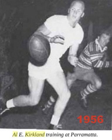 Al traing at Parra 1956